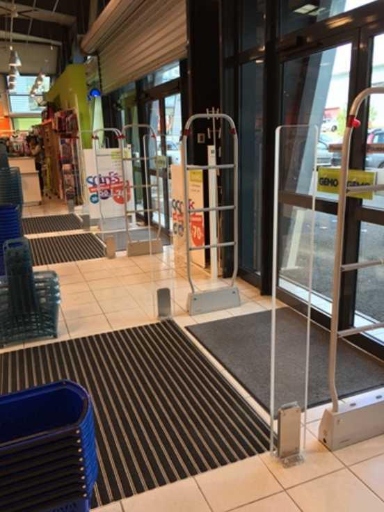 Les privilèges d'un portique antivol pour votre magasin